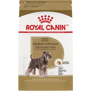 Royal Canin Miniature Schnauzer Adult Dry Dog Food, 2.5-lb bag