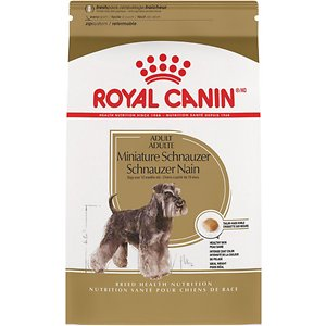 Royal Canin Miniature Schnauzer Adult Dry Dog Food, 10-lb bag