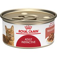 Royal Canin Feline Health Nutrition Adult Instinctive Thin Slices in Gravy Canned Cat Food, 3-oz, case of 24