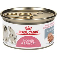Royal Canin Mother & Babycat Ultra-Soft Mousse Canned Food for New Kittens, Nursing & Pregnant Mother Cats, 3-oz, case of 24