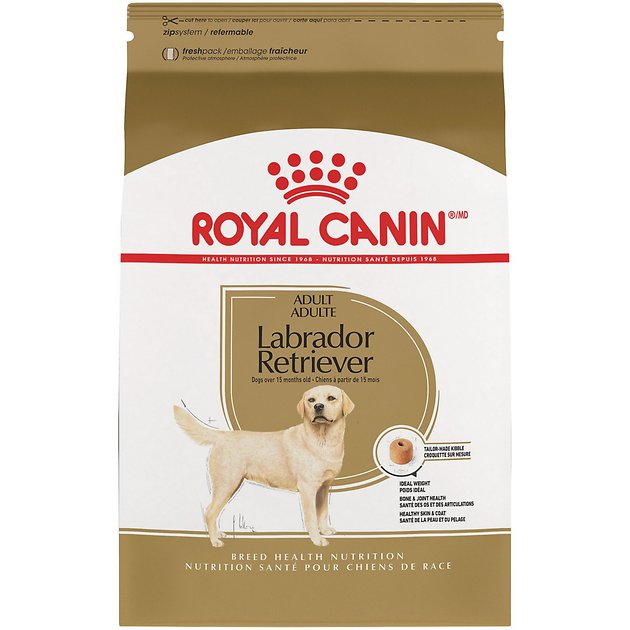 royal canin labrador retriever adult dry dog food 30 lb bag. Black Bedroom Furniture Sets. Home Design Ideas