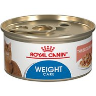 Royal Canin Ultra Light Thin Slices in Gravy Canned Cat Food, 3-oz, case of 24