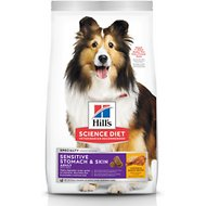 Hill's Science Diet Adult Sensitive Stomach & Skin Chicken Recipe Dry Dog Food, 15.5-lb bag