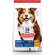 Hill's Science Diet Adult 7+ Chicken Meal, Rice & Barley Recipe Dry Dog Food, 5-lb bag