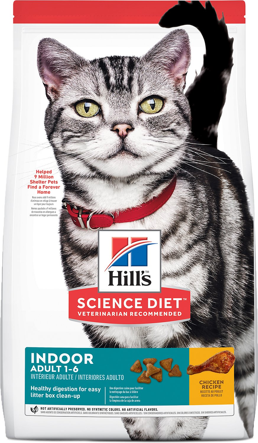 fed hill science cat diet food