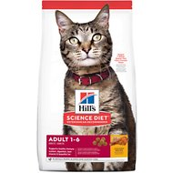 Hill's Science Diet Adult Chicken Recipe Dry Cat Food, 4-lb bag