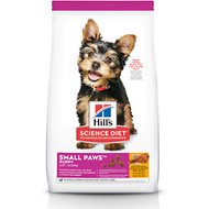 Hill's Science Diet Puppy Small Paws Chicken Meal, Barley & Brown Rice Dry Dog Food, 4.5-lb bag