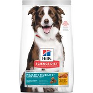 Hill's Science Diet Adult Healthy Mobility Large Breed Chicken Meal, Brown Rice & Barley Recipe Dry Dog Food, 30-lb bag