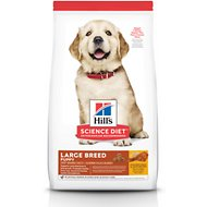 Hill's Science Diet Puppy Large Breed Chicken Meal & Oat Recipe Dry Dog Food, 30-lb bag
