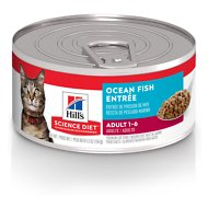 Hill's Science Diet Adult Ocean Fish Entree Canned Cat Food