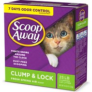 Scoop Away Clump & Lock Scented Clumping Clay Cat Litter