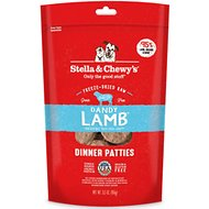 Stella & Chewy's Dandy Lamb Dinner Patties Freeze-Dried Raw Dog Food, 5.5-oz bag