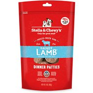 Stella & Chewy's Dandy Lamb Dinner Patties Grain-Free Freeze-Dried Dog Food, 14-oz bag