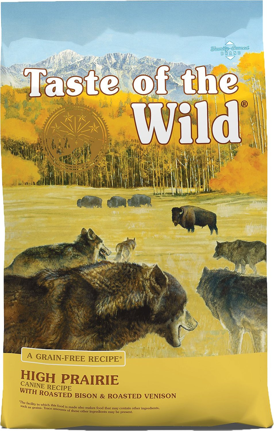 Taste Of The Wild Dog Food Reviews >> Taste of the Wild High Prairie Grain-Free Dry Dog Food at Low Prices - Free Shipping at Chewy.com