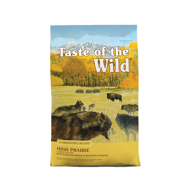 2. Taste of the Wild High Prairie Grain-Free Dog Food