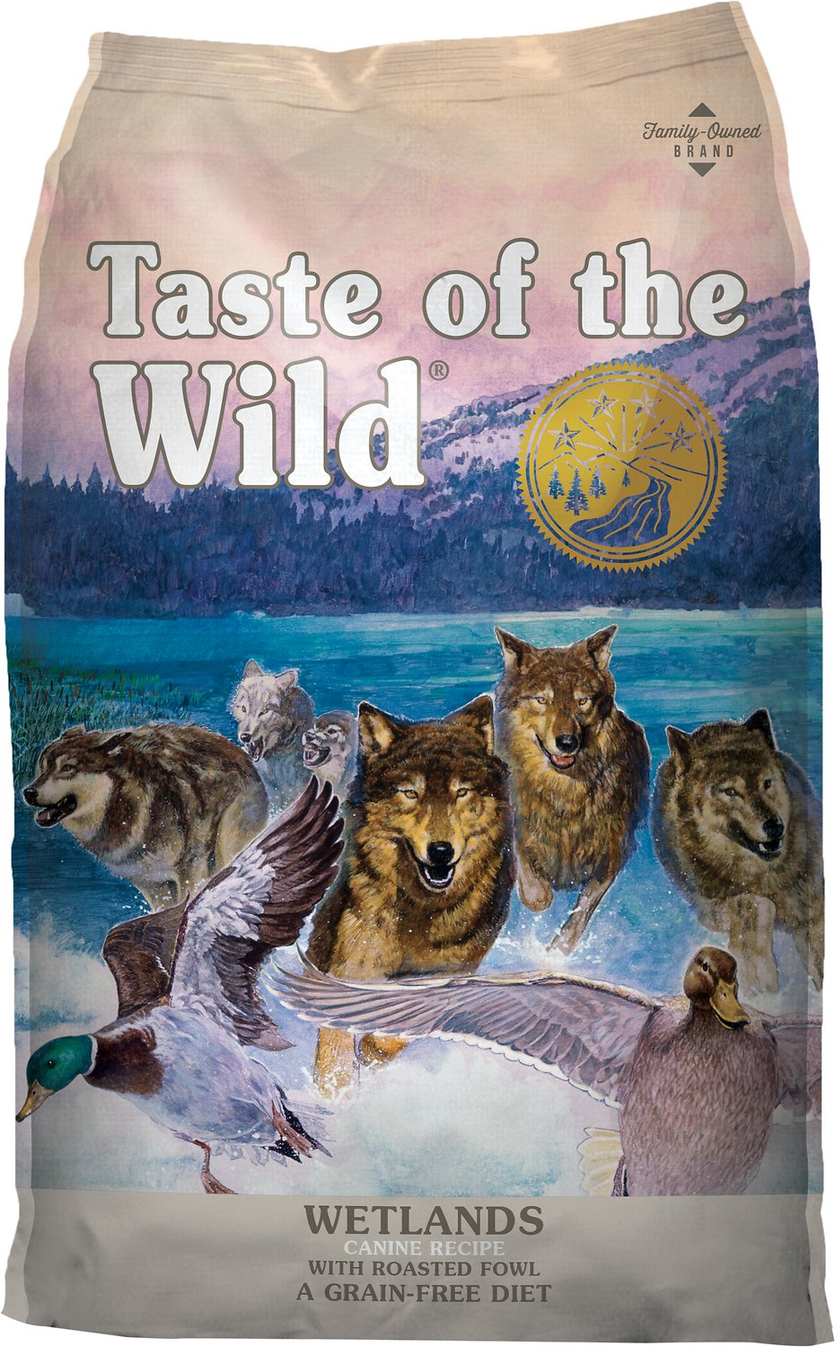 Taste Of Wild Dog Food >> Taste of the Wild Wetlands Grain-Free Dry Dog Food, 30-lb bag - Chewy.com