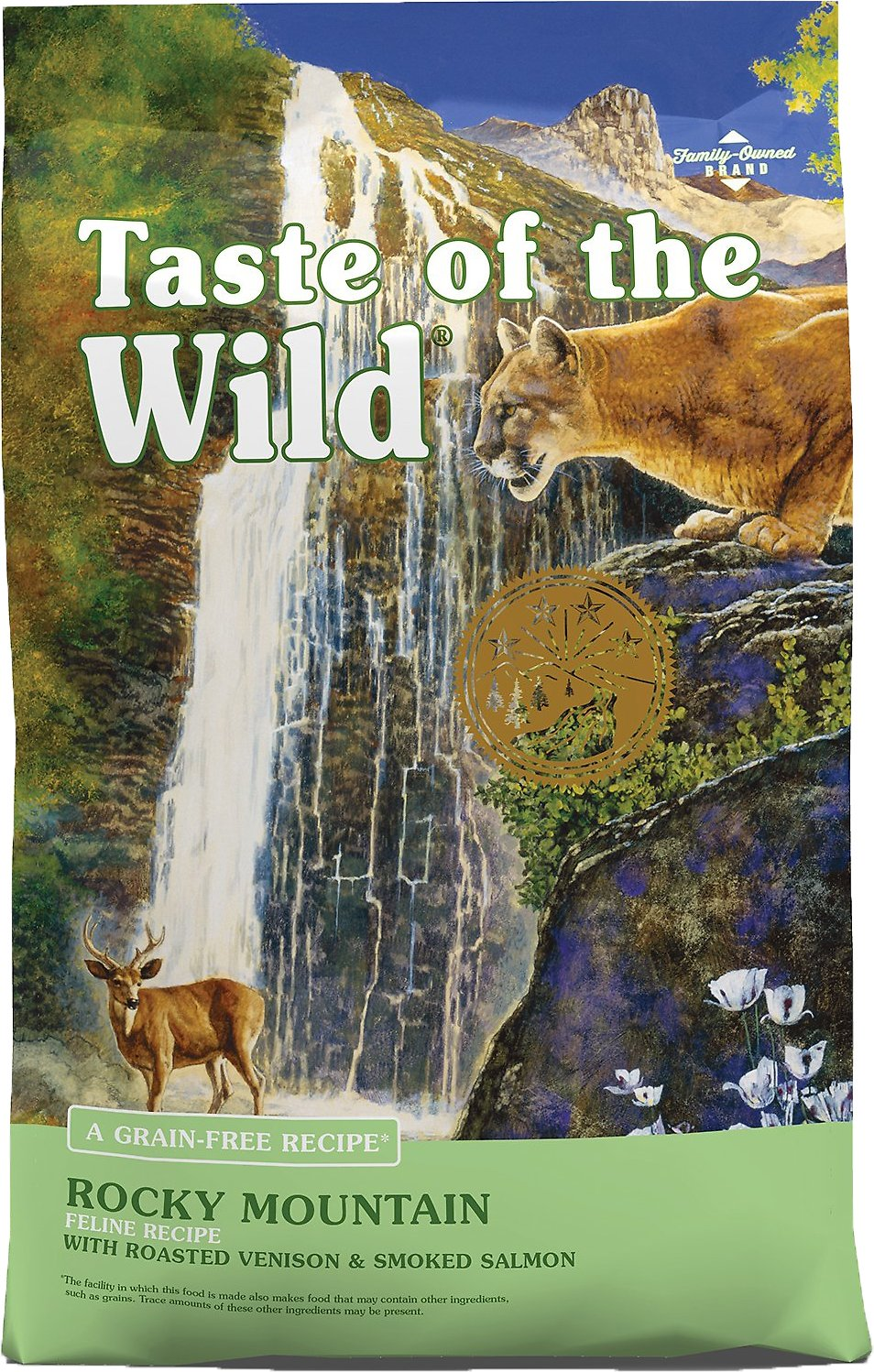 Taste of the Wild Rocky Mountain Grain-Free Dry Cat Food, 5-lb bag - Chewy.com