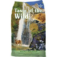 Taste of the Wild Rocky Mountain Grain-Free Dry Cat Food, 15-lb bag