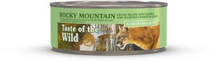 1. Taste of the Wild Rocky Mountain Grain Cat Food