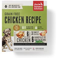 The Honest Kitchen Grain-Free Chicken Recipe Dehydrated Dog Food, 4-lb box