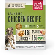 The Honest Kitchen Grain-Free Chicken Recipe Dehydrated Dog Food, 10-lb box