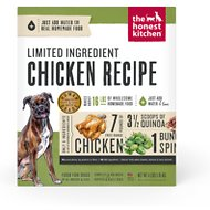 The Honest Kitchen Limited Ingredient Diet Chicken Recipe Grain-Free Dehydrated Dog Food, 4-lb box