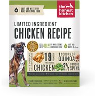 The Honest Kitchen Limited Ingredient Diet Chicken Recipe Grain-Free Dehydrated Dog Food, 10-lb box