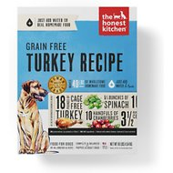 The Honest Kitchen Grain-Free Turkey Recipe Dehydrated Dog Food, 10-lb box