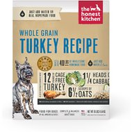 The Honest Kitchen Whole Grain Turkey Recipe Dehydrated Dog Food, 10-lb box