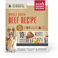 The Honest Kitchen Whole Grain Beef Recipe Dehydrated Dog Food, 10-lb box