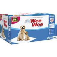 "Wee-Wee Pet Training and Puppy Pads, 22"" x 23"", 100 count"