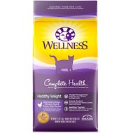 Wellness Complete Health Healthy Weight Deboned Chicken, Chicken Meal & Turkey Meal Recipe Dry Cat Food, 2.5-lb bag