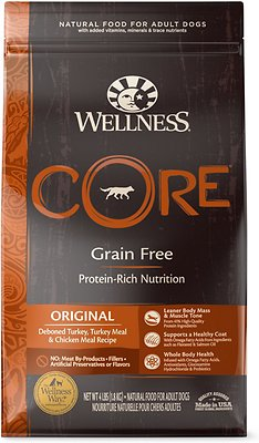 4. Wellness Core Natural Grain-Free Dry Dog Food