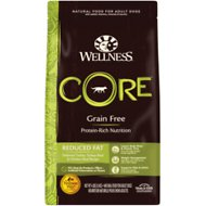 Wellness CORE Grain Free Reduced Fat Turkey & Chicken Recipe Dry Dog Food, 4-lb bag