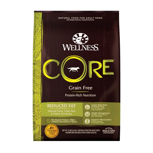Wellness Core Grain Free Reduced Fat Dog Food Reviews