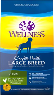 7. Wellness Large Breed Complete Health