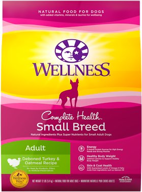 4. Wellness Complete Health Small Breed