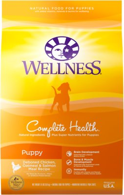 5. Wellness Complete Health Puppy Dry Dog Food