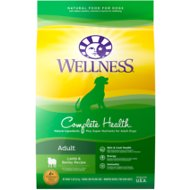 Wellness Complete Health Adult Lamb & Barley Recipe Dry Dog Food