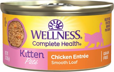 5. Wellness Complete Health Kitten Formula Grain-Free Canned Cat Food