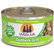 Weruva Outback Grill with Trevally & Barramundi Grain-Free Canned Cat Food