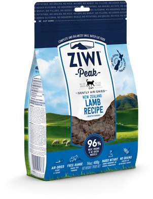 5. Ziwi Peak Air-Dried Lamb Recipe Cat Food