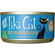 Tiki Cat Napili Luau Wild Salmon & Chicken in Chicken Consomme Grain-Free Canned Cat Food, 2.8-oz, case of 12