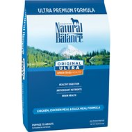 Natural Balance Original Ultra Whole Body Health Chicken, Chicken Meal & Duck Meal Formula Dry Dog Food, 30-lb bag
