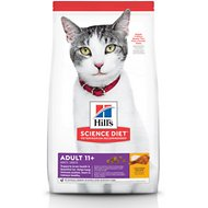 Hill's Science Diet Adult 11+ Chicken Recipe Dry Cat Food