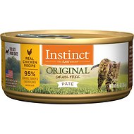 Instinct by Nature's Variety Original Grain-Free Real Chicken Recipe Natural Wet Canned Cat Food, 5.5-oz, case of 12