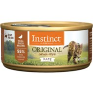 Instinct by Nature's Variety Original Grain-Free Real Duck Recipe Natural Wet Canned Cat Food, 5.5-oz, case of 12