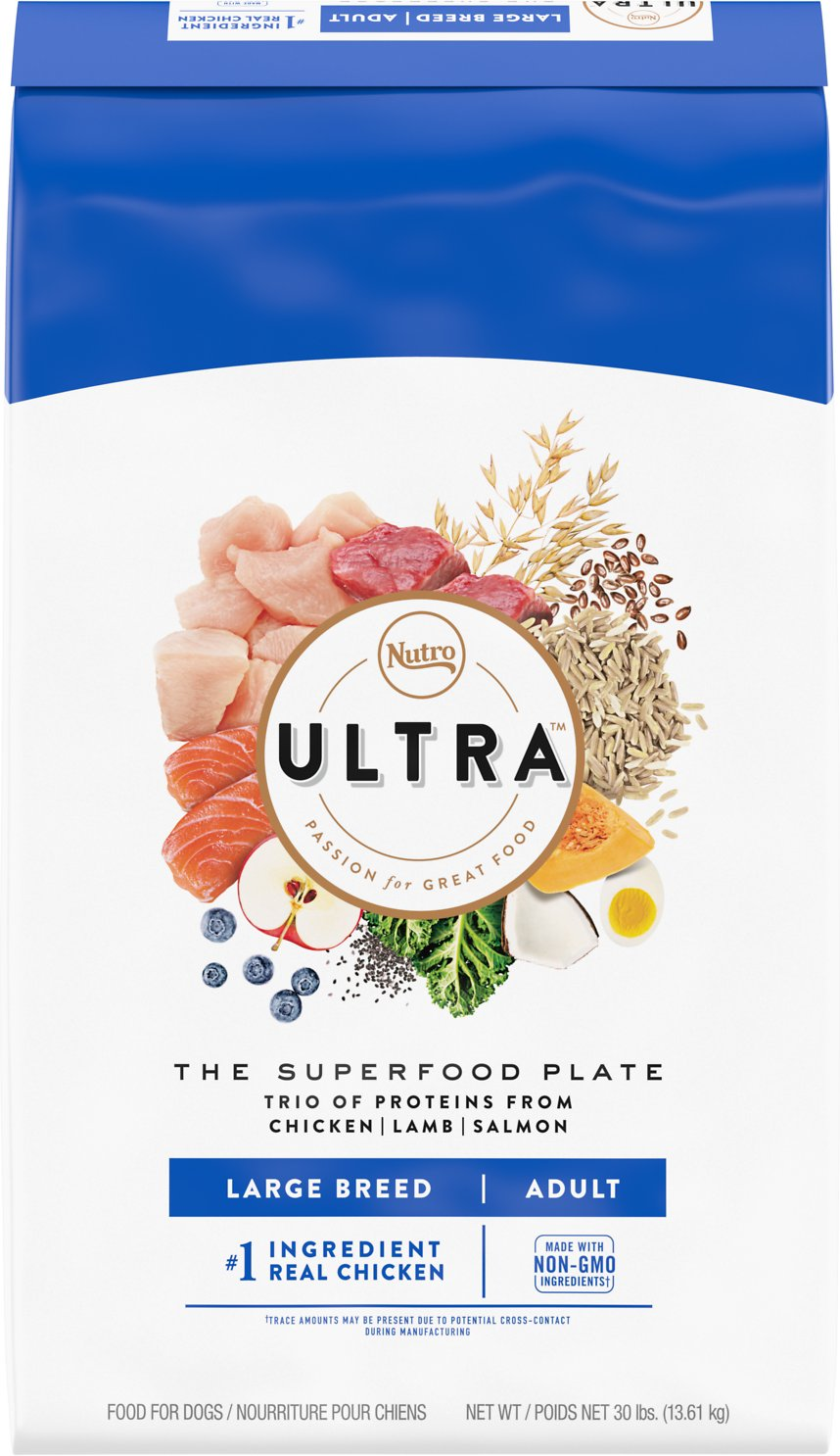Nutro Ultra Large Breed Dog Food Reviews