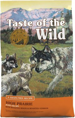 1. Taste of the Wild High-Prairie Puppy Food