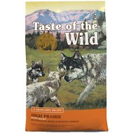 Taste of the Wild High Prairie Puppy Formula Grain-Free Dry Dog Food, 5-lb bag
